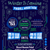 Blizzard Mountain 24-Hour Pinball Marathon
