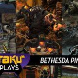 Skyrim, Fallout And Doom Make For Three Very Cool Pinball Tables [Kotaku]
