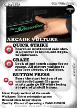 Mega-R-Cade!! – Card #M003 – Arcade Vulture