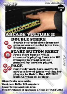 Mega-R-Cade!! – Card #M004 – Arcade Vulture 2