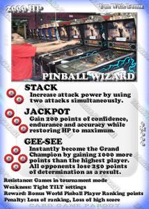 Mega-R-Cade!! – Card #M006 – Pinball Wizard