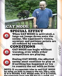 Mega-R-Cade!! – Card #M007 – Cat Mode