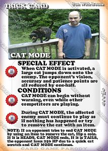 Mega-R-Cade!! – Card #M007 – Cat Mode