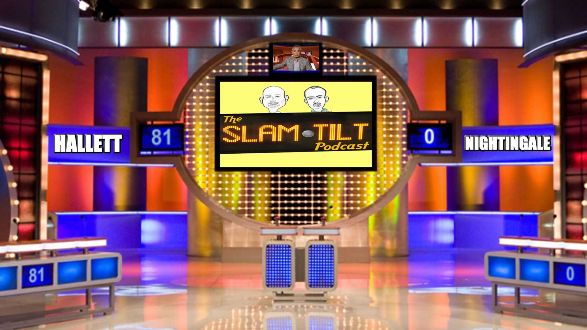 Slam Tilt 61: The Face Off