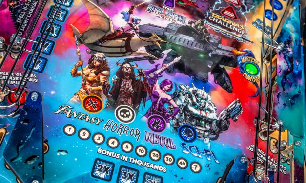 Heavy Metal Pinball Gameplay