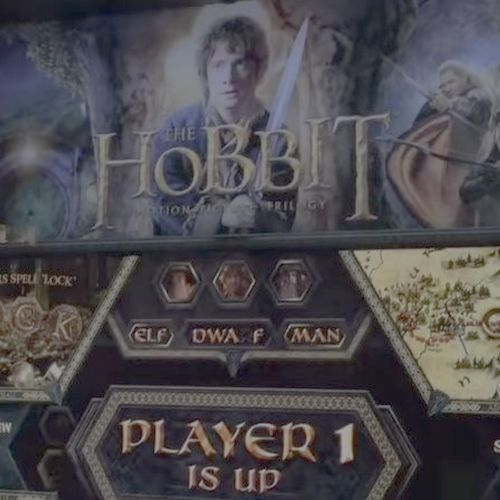 The Hobbit at Pinfest: First person view