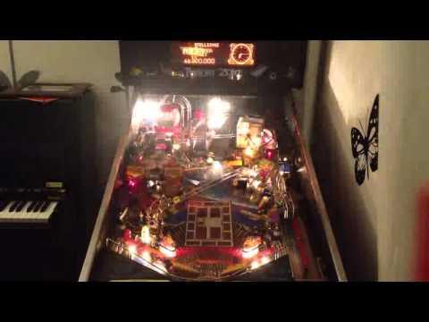 The Deep Funky Pinball Machine