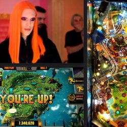 Jeffree Star, Dead Flip, and Jurassic Park Pinball