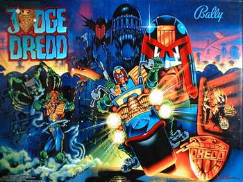 Music Monday: Judge Dredd Pinball – Main Theme Guitar Cover