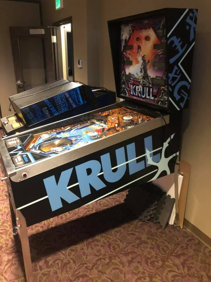 Play KRULL at Pinball Expo 2019!