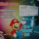 Pic of the Day: Mario's Tiltcam