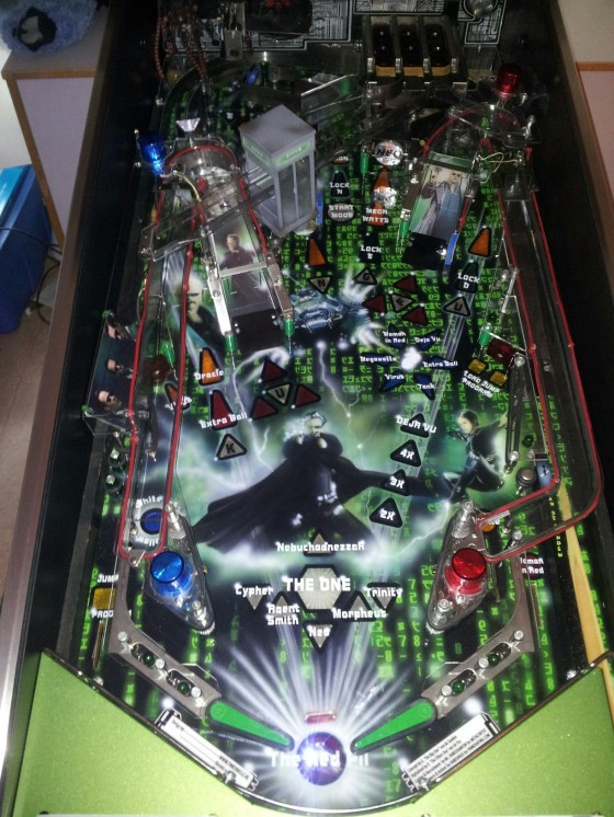 matrix playfield