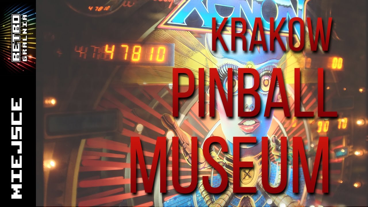 Krakow Pinball Museum – Interactive Pinball Museum – [English CC]