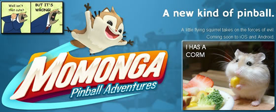 Momonga Pinball Adventures [PREVIEW]