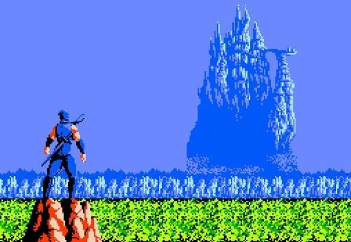 Ninja Gaiden triangle jumps with Jack Danger!