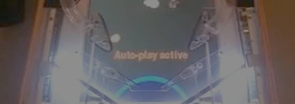 Self-playing pinball machine: Multimorphic P3