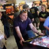 Meanwhile, in Dixon, California   'Pinball players go for the flippers'