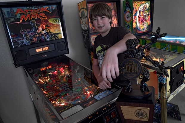 Escher Lefkoff, best pinball player in the world, lives in Longmont | Denver Post