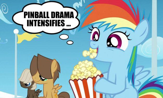 Pinball Drama Intensifies!