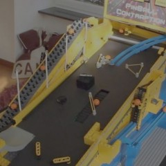 Lego Pinball Contraption