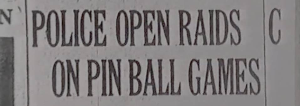 History: Pinball Madness Documentary