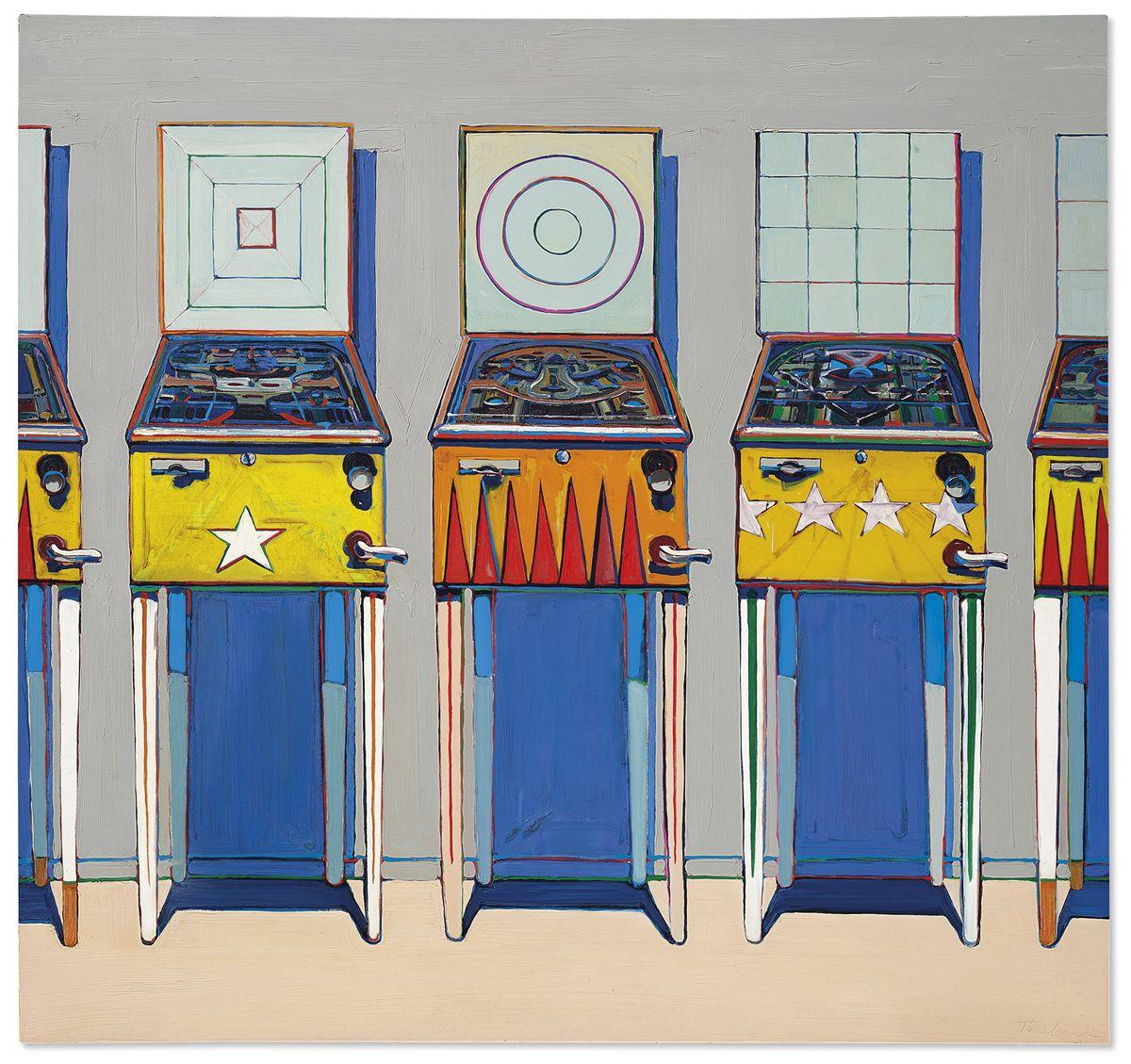 Multimillion dollar pinball painting