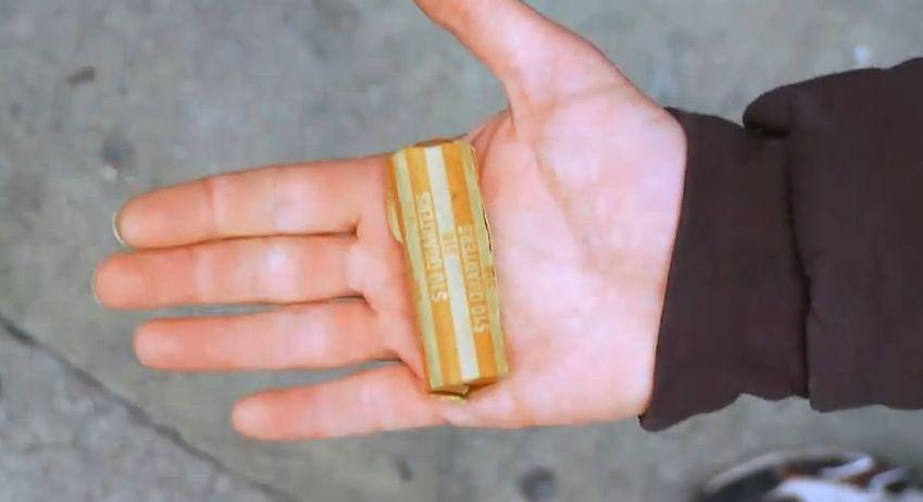 pocket full of quarters