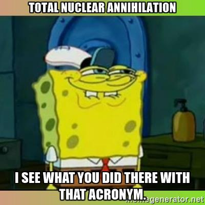 Total Nuclear Annihilation (Spooky #86)