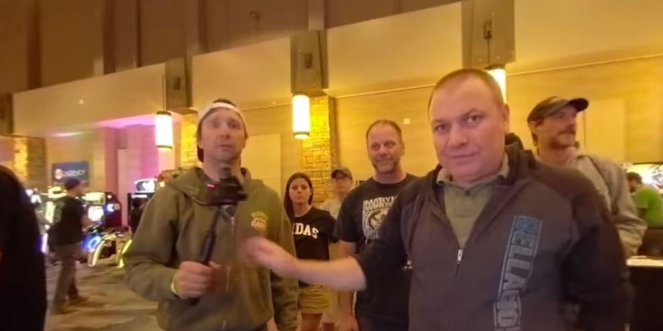Trailer Tom at Rocky Mountain Pinball Showdown