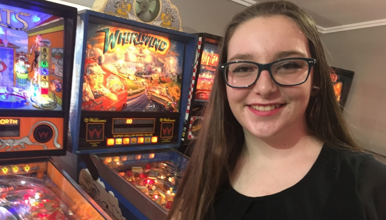 Kiwi teen races up world pinball rankings   Newshub