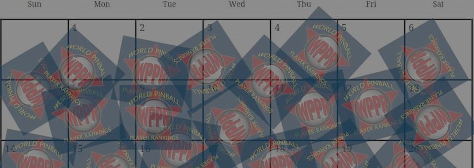 New Pinball Dictionary: WPPR-tunity